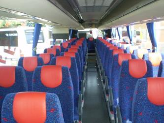 Lycar Bus Interior