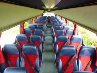 Catteralls Coaches Interior