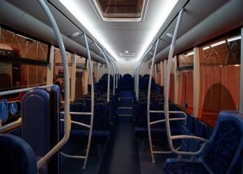 Go North East Bus Interior