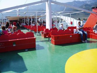 Thassos Ferries Deck