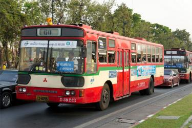 Regular Bangkok bus