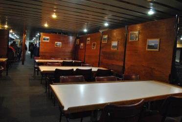 Interior of Ferry Don Baldo