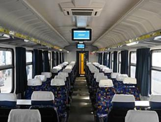 InterCity train carriage