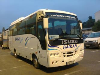 Balkan Express bus