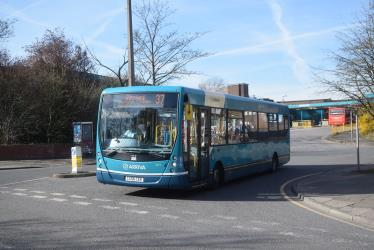 One of Arriva's low floor buses