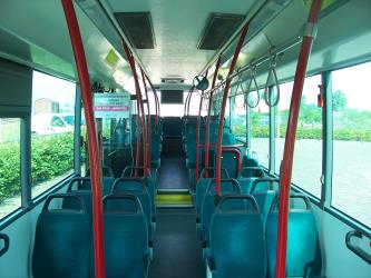 Interior of Connexxion Bus
