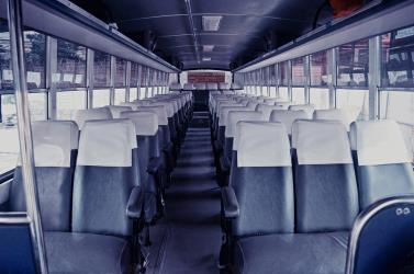 Economy Bus Seats without A/C