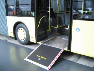 Ramp for mobility impaired access