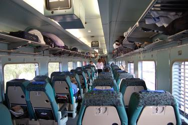Interior showing seating
