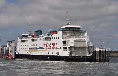 Exterior of TESO Ferry