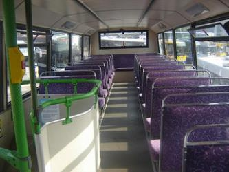 First bus interior