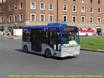 Minibus in Florence