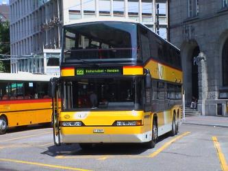 Swiss PostAuto Bus