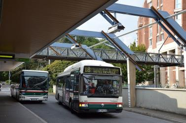 Lille buses front view
