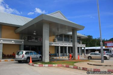 Outside Phuket Bus Terminal 2