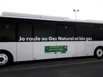 Natural gas bus