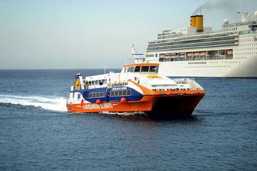 Exterior of Dodekanisos Seaways