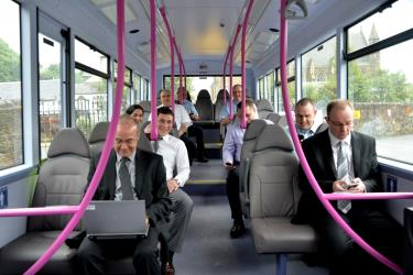 First UK Bus Interior