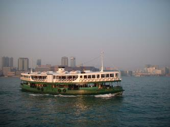 Star Ferry on Victoria Harbour