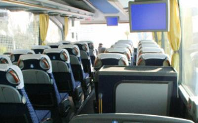 Curreri Viaggi bus interior