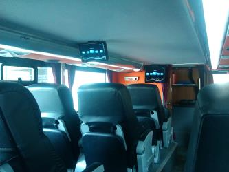Bus interior Cochecama