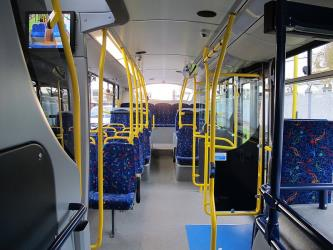 Dublin Bus Interior