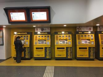 Ticket machines