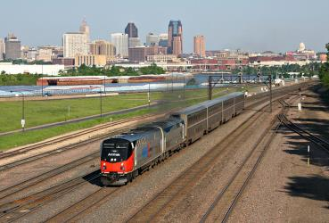 Empire Builder near St Paul
