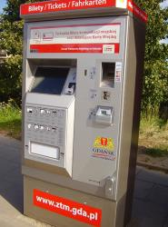 ZTM ticket machine