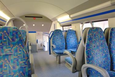 Fertagus train interior