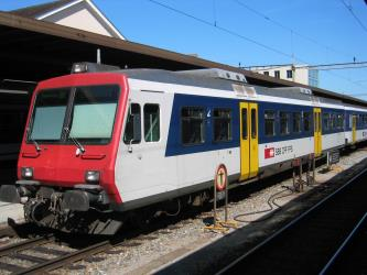 Swiss Railways Regio Train