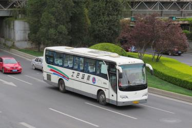 Airport bus at Dongbianmen
