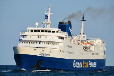 Golden Star Ferries Exterior