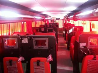 Bus Interior Platinum