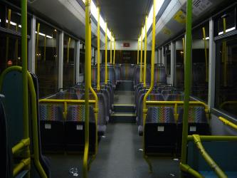 Blackpool Transport Bus Interior