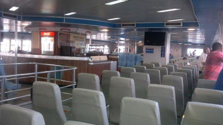 CCR Ferry interior