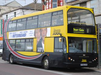Blackpool Transport Bus Exterior