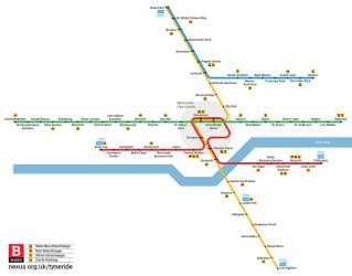 Nexus Metro Map