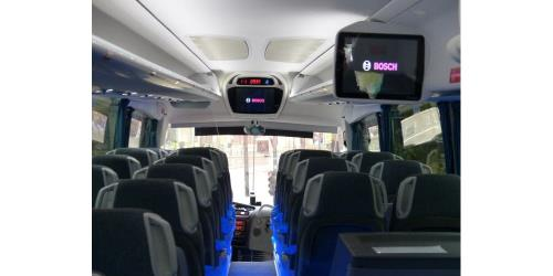 BlaBlabus interior seating