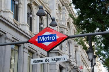 Banco de Espana station