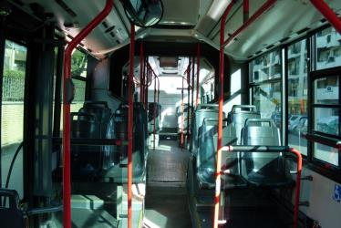 TUSSAM Bus Interior