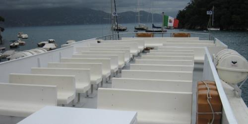 Ferry Creuza De Ma deck seating