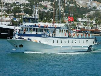 A Bodrum Ferry Boat