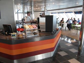Coffee House on a Ferry
