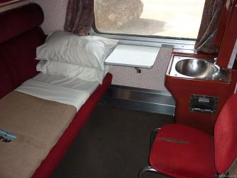 First-class Berth Interior