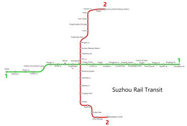 Suzhou Metro Map