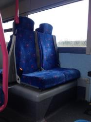 Translink Bus Interior Seating