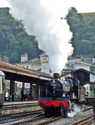 Dartmouth Steam Railway Train