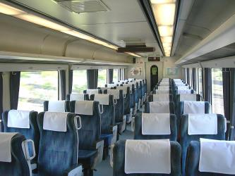 Ltd Exp Nanpu Green seat Interior