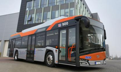 New low-floor city buses